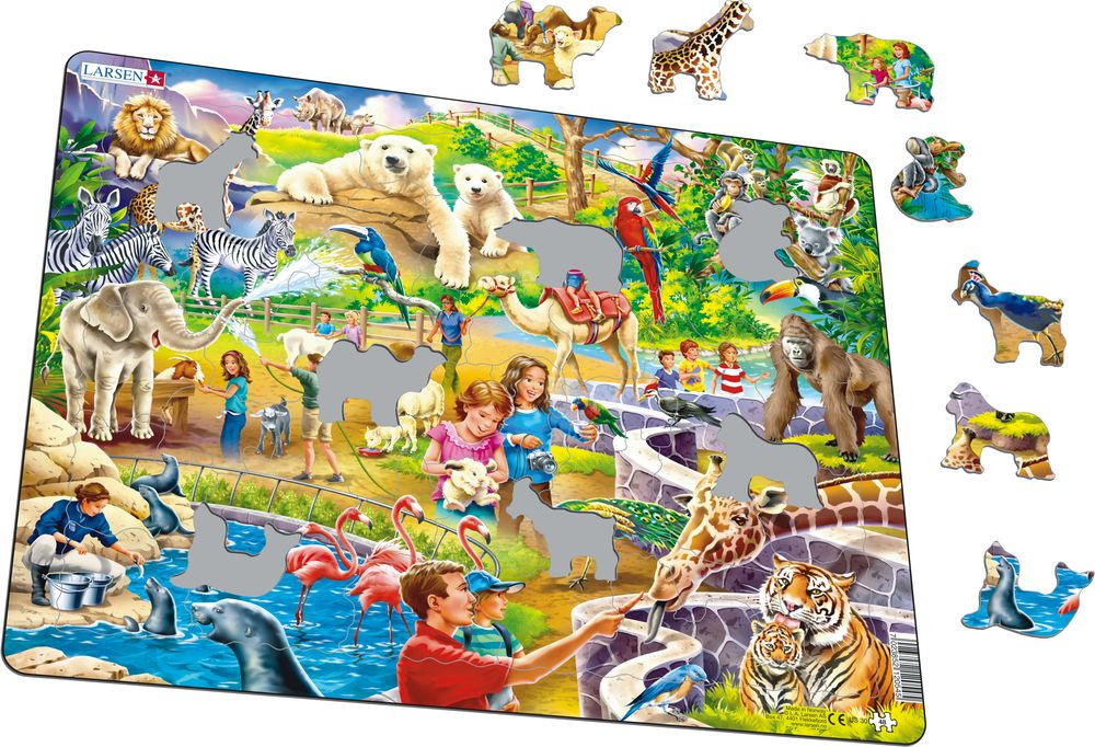 US30 - Zoo Puzzle (Illustrative image 1)