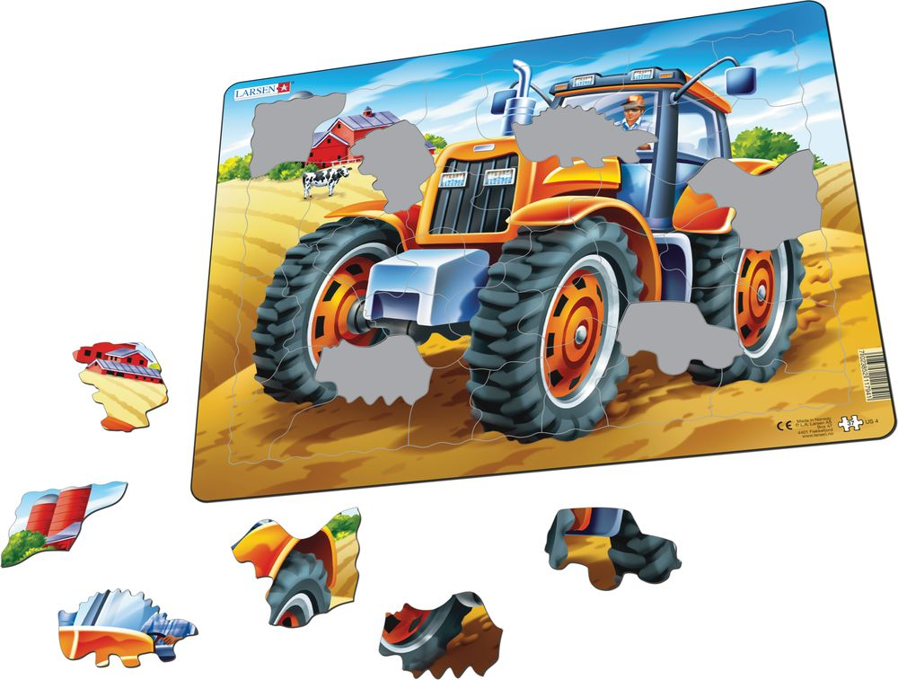 US4 - Tractor Puzzle (Illustrative image 1)