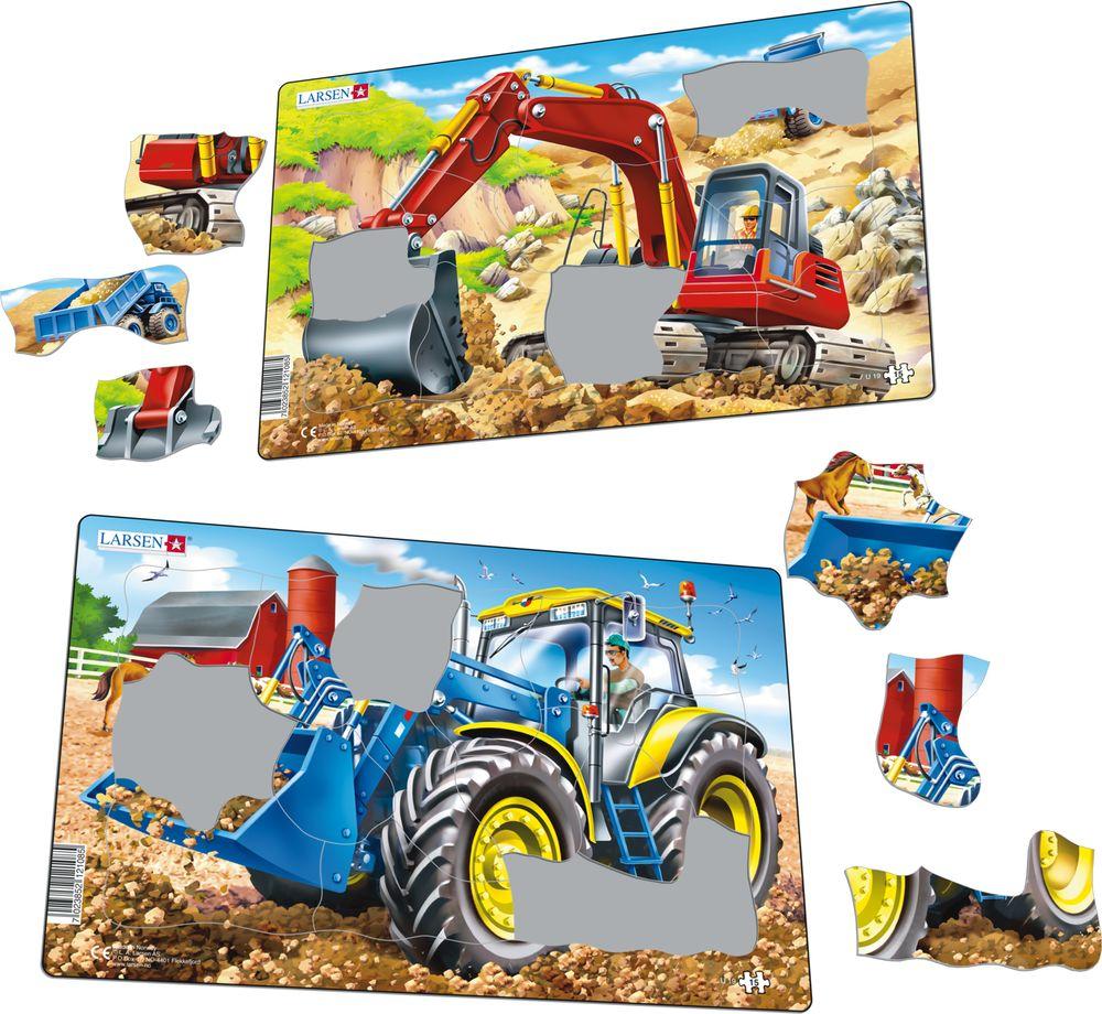 U19 - Traktor og Gravemaskin (Illustrasjonsbilde 1)