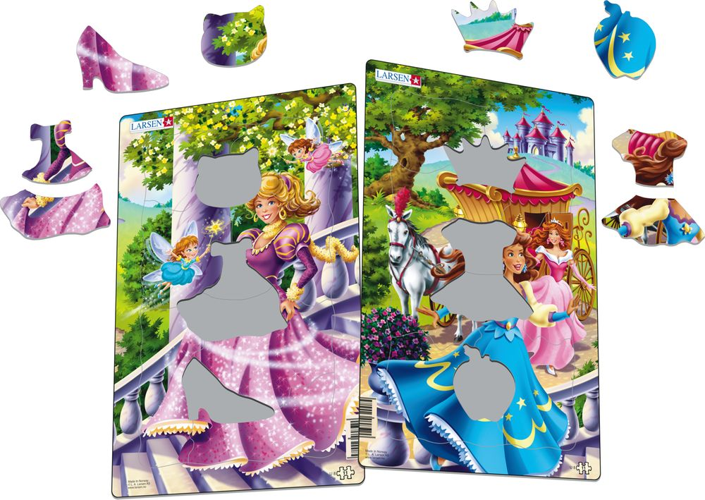 U8 - Princesses-Midi (Illustrative image 1)