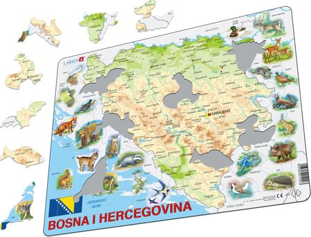A20 - Bosnia and Herzegovina with Animals