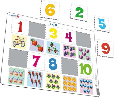 AR3 - Learn to Count: Numbers from 1-10