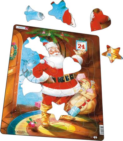 JUL1 - Santa Claus on Christmas Eve