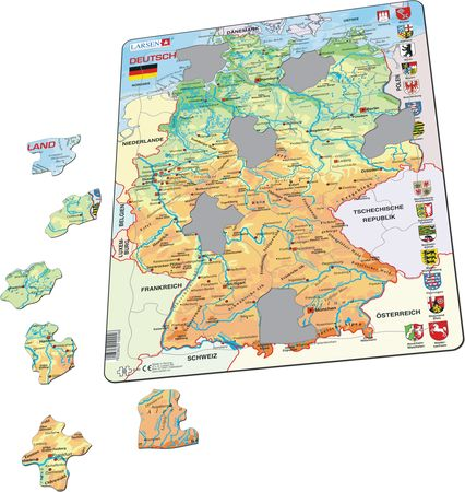 K40 - Germany Physical Map