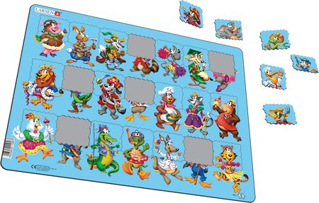 NM5 - Beginner Puzzle: Cartoon Animals