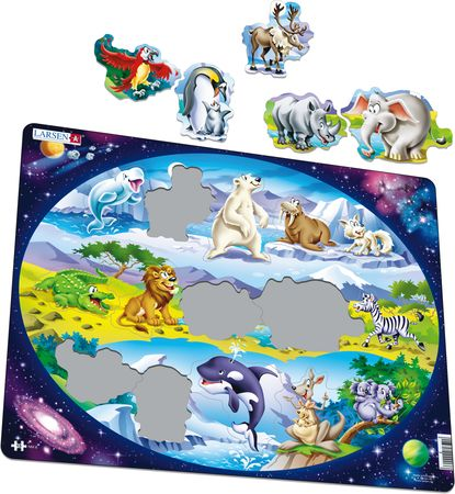 NM6 - Beginner Puzzle: Animals Around the World