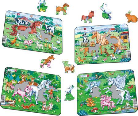 V5 - Ponnier og enhjørninger med venner