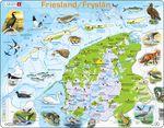 K80 - Friesland fysisk kart