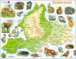 K91 - Gelderland fysisk kart