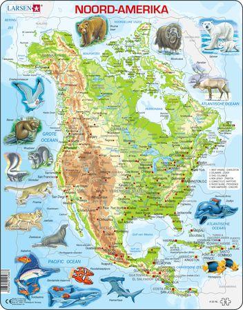 A32 - Nord Amerika med dyr
