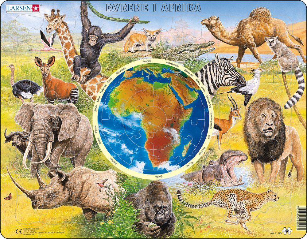 AW2 - Dyrene i Afrika (Norsk)