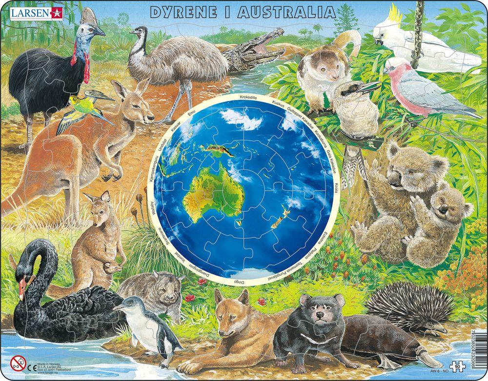 AW6 - Dyrene i Australia (Norsk)