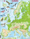 K70 - Europa kartpuslespill