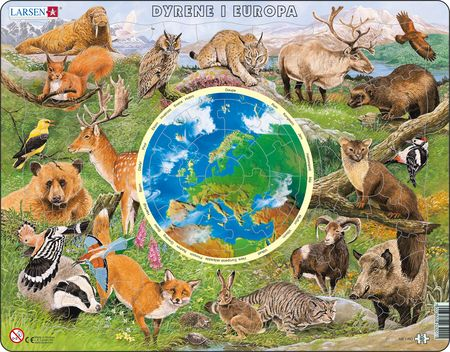 AW1 - Dyrene i Europa