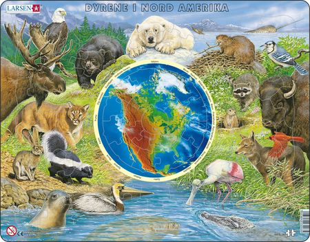 AW3 - Dyrene i Nordamerika