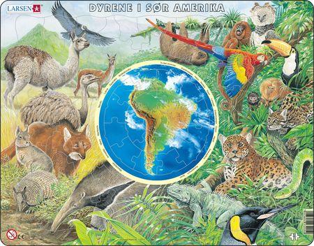AW5 - Dyrene i Søramerika