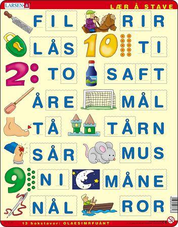 LS16 - Lær å stave