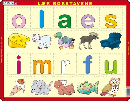 LS21 - Learn the letters (lower cases)