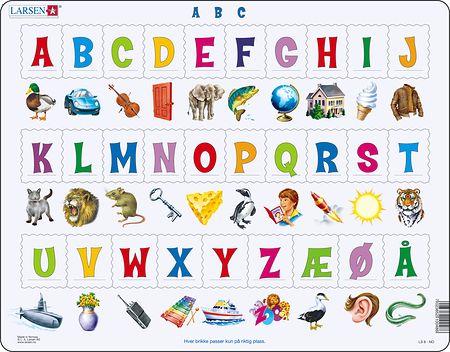 LS829 - Lær bokstavene(29)