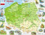 K98 - Polen, topografisk kart