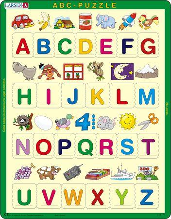 LS826 - Lær alfabetet: 26 store bokstaver