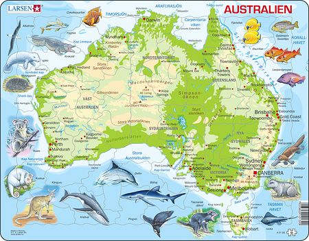 A31 - Australia with animals
