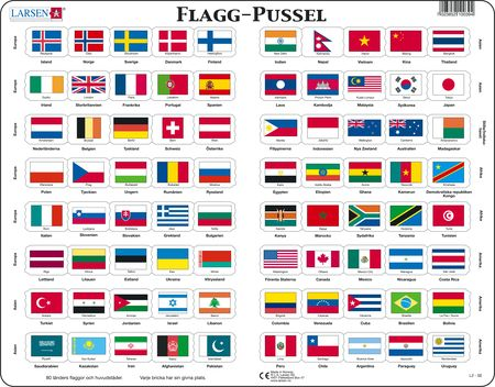 L2 - Flagg-Pussel