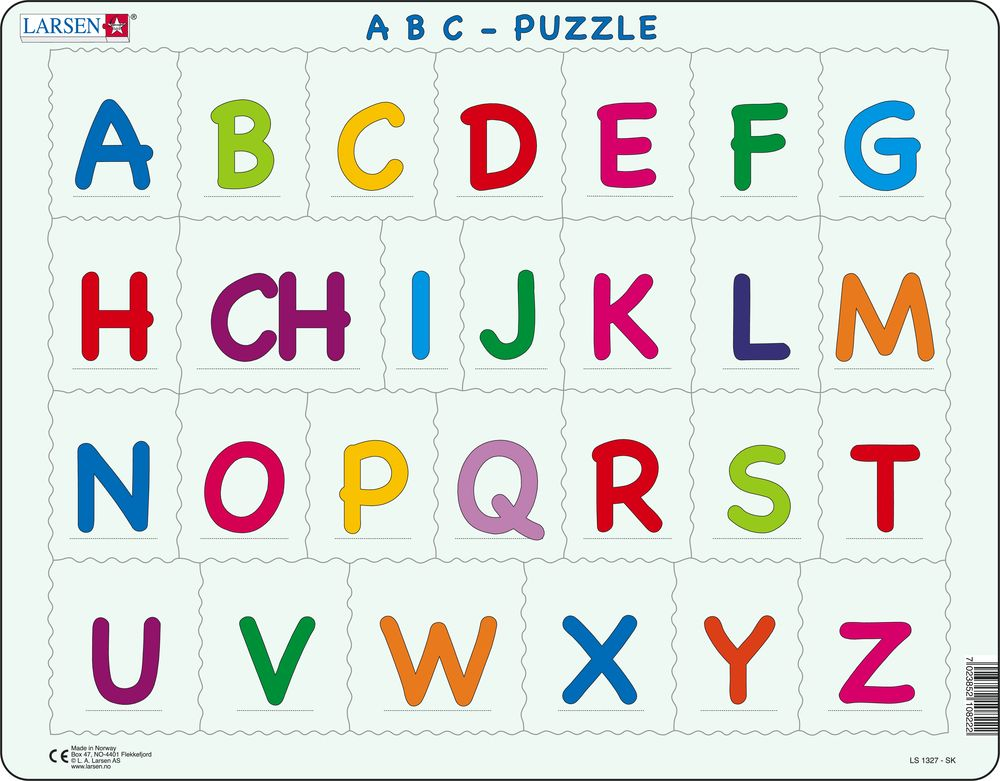 LS1327 - ABC-Puzzle (Slovakisk)