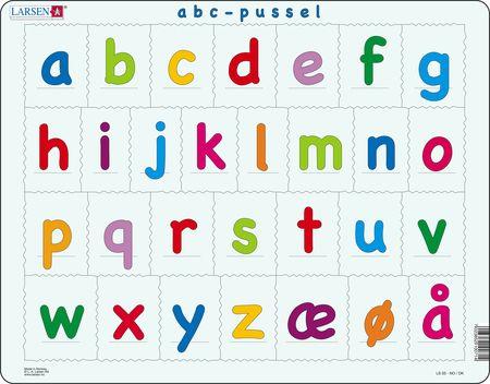 LS33 - Alfabetet (små bokstaver)