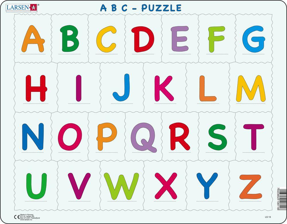LS1326 - The Alphabet - Upper case :: Reading :: Puzzles ...