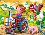 BM7 - On the Farm: Tractor Racing a Pig