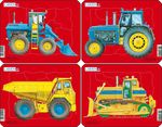 Z1 - Tractors, Dump Truck and Bulldozer