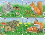Z12 - Rabbit, Squirrel, Hedgehog, Fox