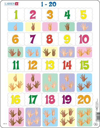 AR18 - Learn to Count: Numbers from 1 to 20