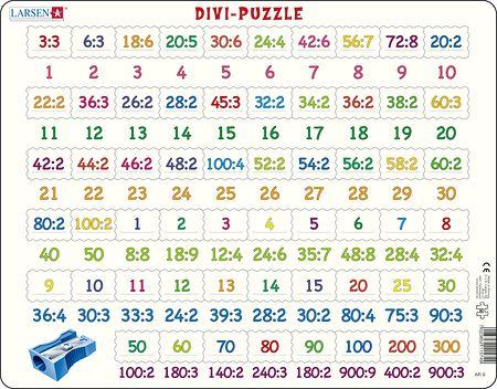 AR9 - Divi-Puzzle. Divisjon med tall fra 1 til 900