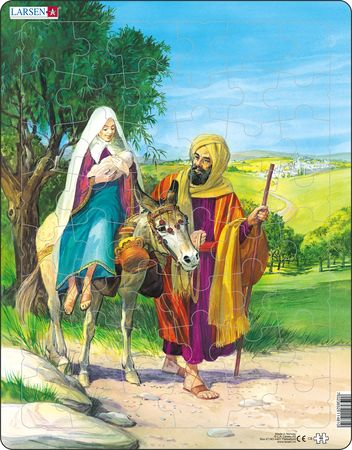C8 - Mary, Joseph and Baby Jesus on their way to Egypt