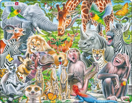 CZ3 - Selfie - Happy African animals