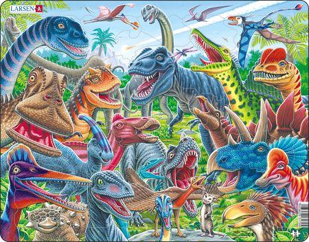 CZ4 - Selfie - muntre dinosaurer
