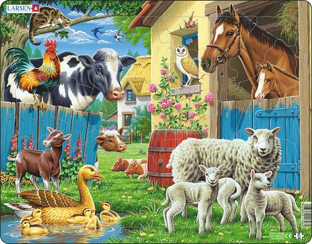 FH23 - Husdyr på en koselig gård