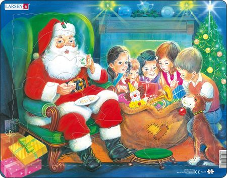 JUL14 - Santa With Children
