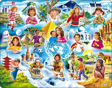 NM8 - Beginner Puzzle: Children Around the World