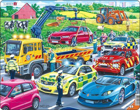PG3 - Redningsbiler på motorveien