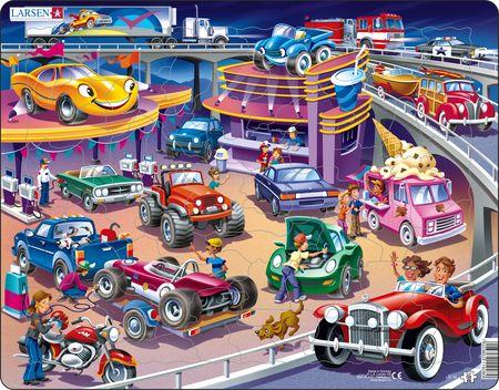 US19 - Travel veikro og bensinstasjon