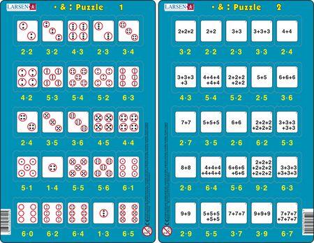 LA8 - • & : Puzzle :: Math :: Puzzles :: Larsen Puzzles