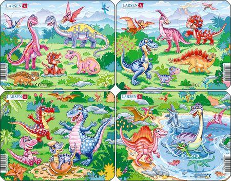 V6 - Lekne dinosaurer