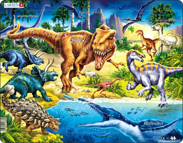 NB3 - Dinosaurs from the Cretaceous Period